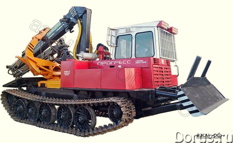 Трелевочный трактор ЛП-18К на шасси МСН-10 (ТТ-4М) - Сельхоз и спецтехника - Бесчокерный трелевочный..., фото 1