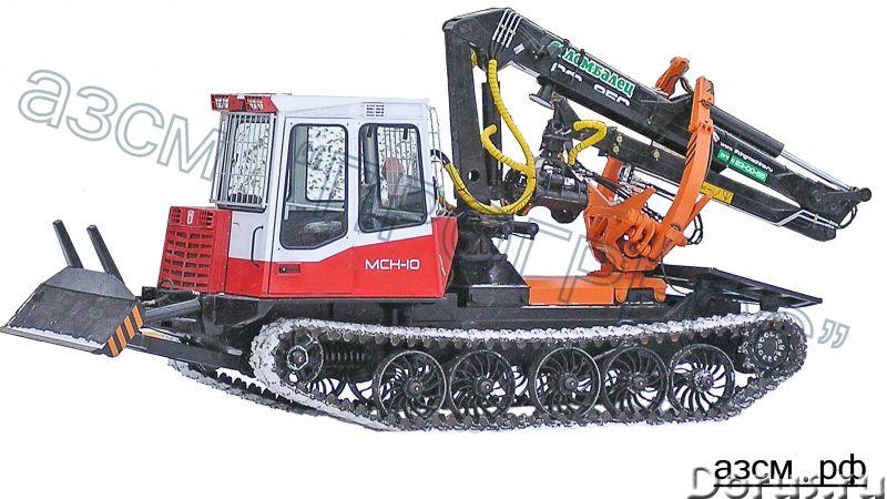Трелевочный трактор ЛП-18К на шасси МСН-10 (ТТ-4М) - Сельхоз и спецтехника - Бесчокерный трелевочный..., фото 2