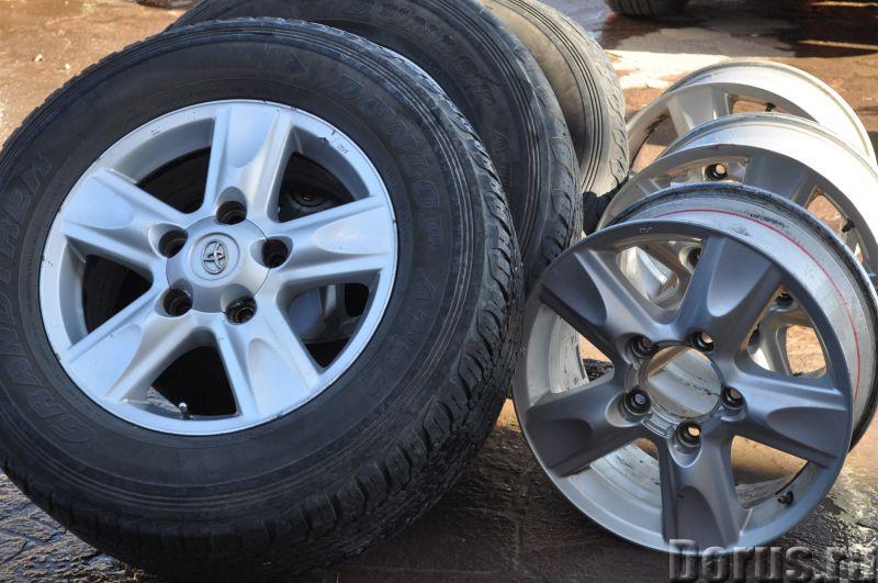Колеса. Диски. Шины. Toyota Land Cruiser 100. 105. 200. Lexus LX 450. 470. 570. R 17, 18, 20 - Запча..., фото 1