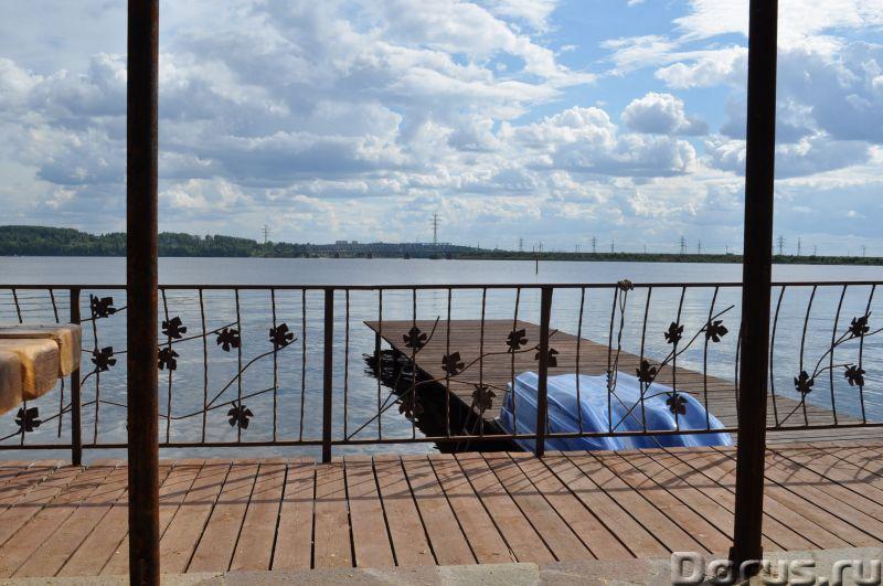 Бунгало на берегу реки. Посуточно - Гостиницы - Дом-Бунгало 80 кв.м. и Коттедж 305 кв.м. на берегу з..., фото 1