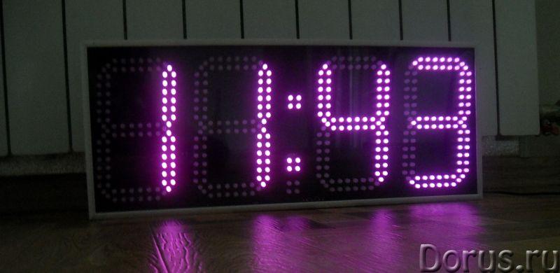 Часы настенные электронные - Товары для дома - Часы настенные, офисные в алюминиевом корпусе C-R4170..., фото 1