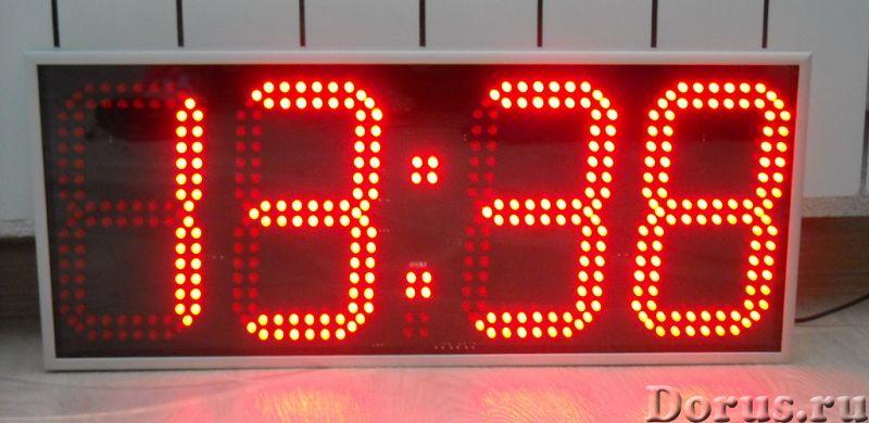 Часы настенные электронные - Товары для дома - Часы настенные, офисные в алюминиевом корпусе C-R4170..., фото 2