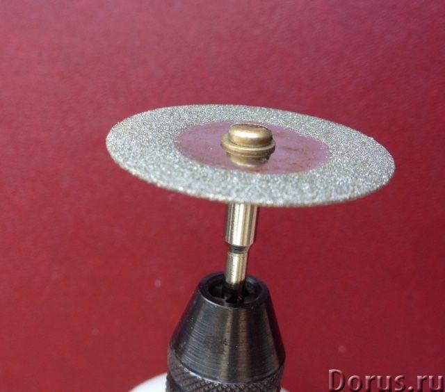 Отрезной алмазный диск для бормашинки - Строительный инструмент - Диск отрезной алмазный диаметр 35м..., фото 3