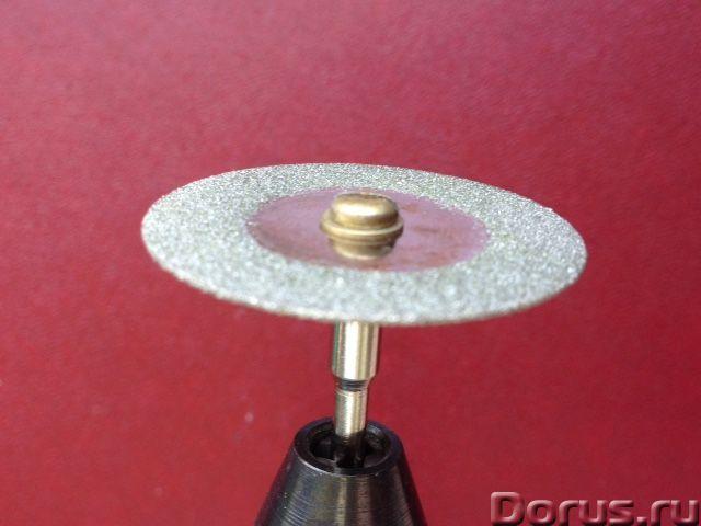 Отрезной алмазный диск для бормашинки - Строительный инструмент - Диск отрезной алмазный диаметр 35м..., фото 4