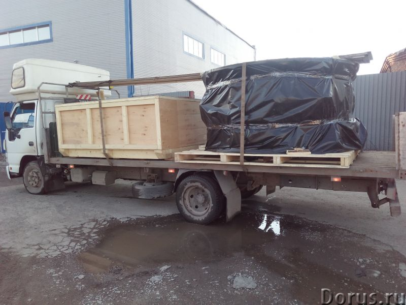 Грузоперевозки: борт 6м, груз до 8м, 4 тонны - Перевозки - Перевозка грузов: Исузу борт 6,2м Х 2,15м..., фото 2